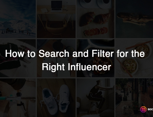 How to Search and Filter for the Right Influencer