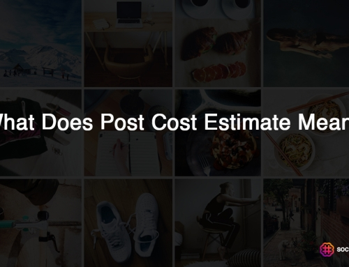 What Does Post Cost Estimate Mean?