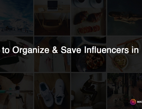 How to Organize & Save Influencers in Lists